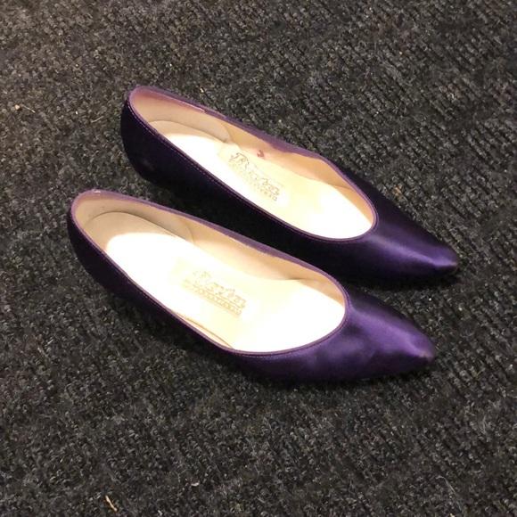 Bridesmaid Purple Dress Shoes